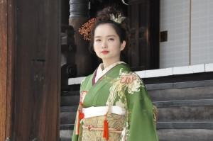 やゝの菊姫ーアンティーク振袖7