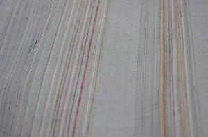 真綿紬虹色縞