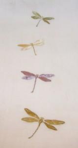 KIMONO姫 やゝ游風 掲載品 麻に蜻蛉刺繍名古屋帯