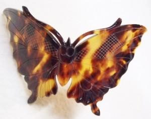 蝶々 鼈甲 髪留